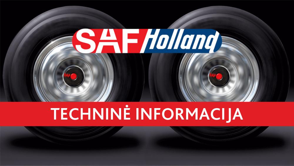 """SAF-Holland"" techninė informacija"