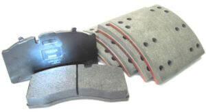 Textar stabdžių antdėklai ir kaladėlės