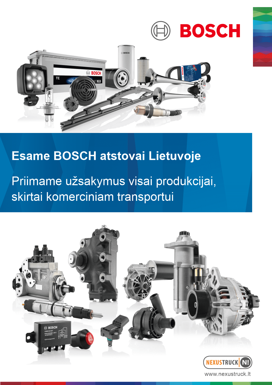 bosch atstovai Lietuvoje