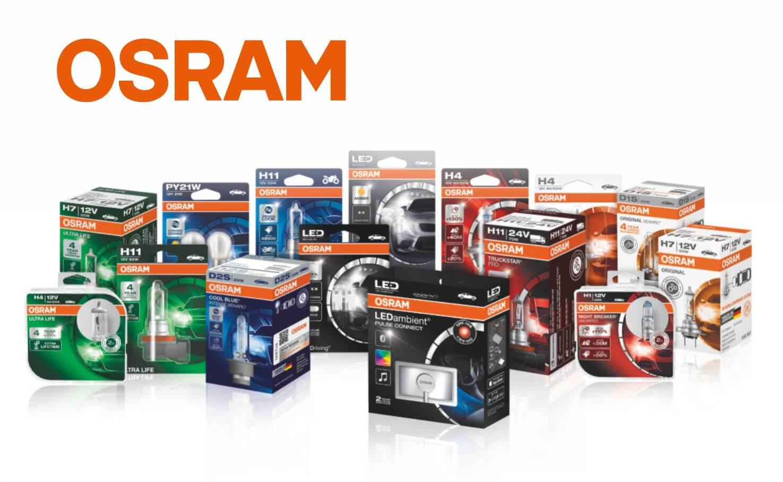 OSRAM lemputės