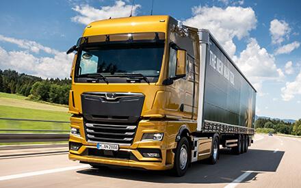 Naujasis MAN TGX išrinktas 2021 metų sunkvežimiu